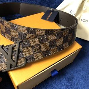 Louis Vuitton Brown Checkered Damier Ebene